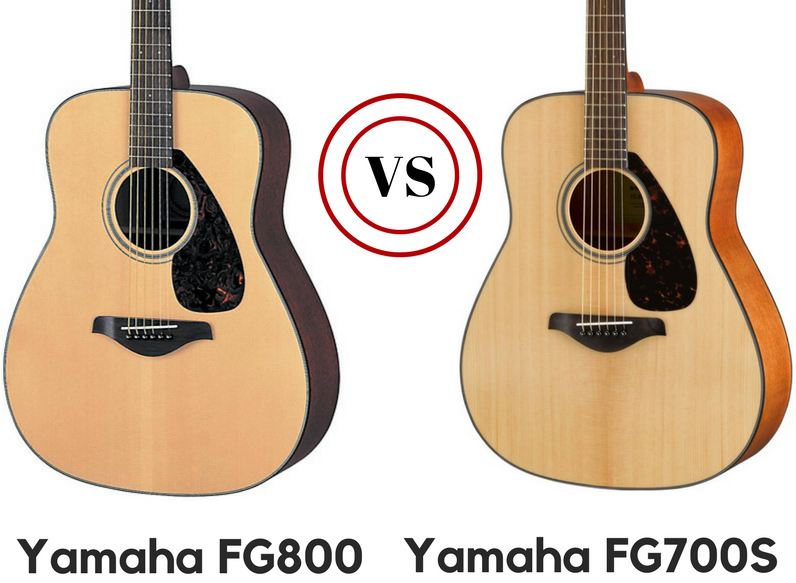 yamaha fg800 vs fg700s review