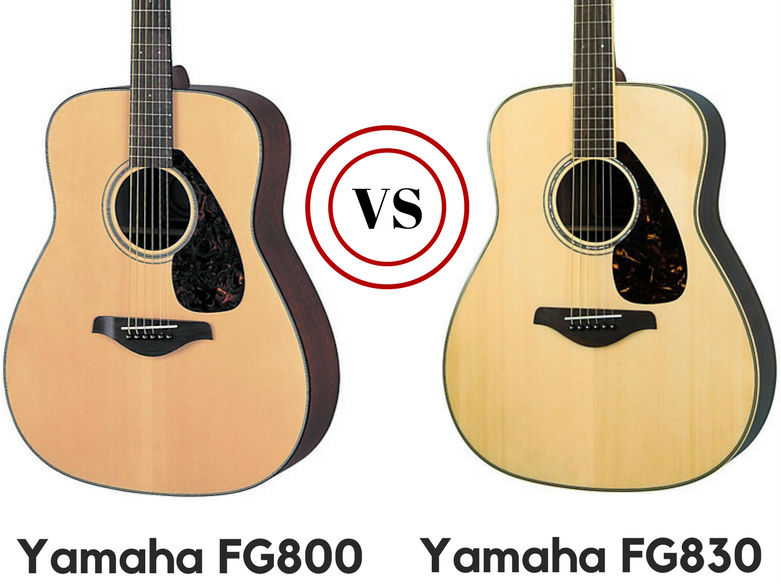 Yamaha Fg830 Vs Fg800 Review Which Is The Better Guitar