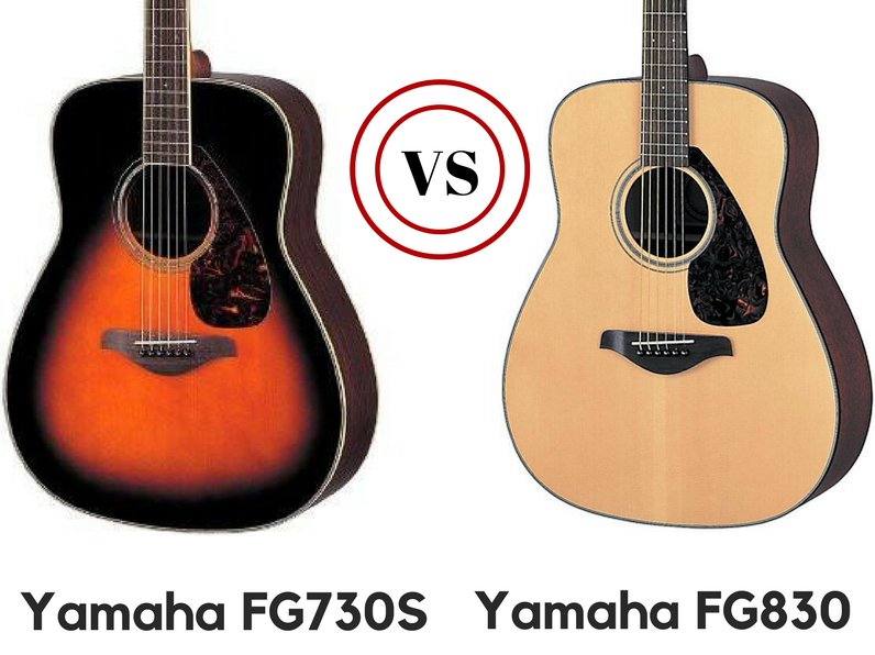 yamaha fg830 vs fg730s which is the better guitar